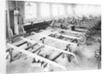 Chassis assembly at the Iris car works by Anonymous
