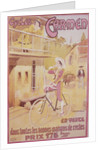 Poster advertising Carmen bicycles, late 19th-early 20th century by Marodon