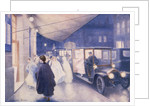 Poster advertising Rolls-Royce cars by Charles Sykes