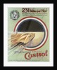 Poster advertising Castrol motor oil by Unknown
