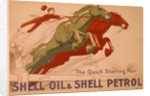 Poster advertising Shell oil and petrol by Unknown