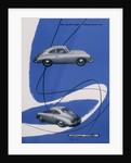 Poster advertising the Porsche 356 by Anonymous