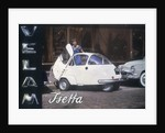 Poster advertising a Velam Isetta car by Anonymous