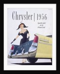 Poster advertising a Chrysler by Anonymous