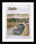 Poster advertising a Pontiac Silver Streak, 1947 by Unknown