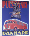 Poster advertising Panhard by Anonymous
