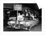 Fancy dress parade with a 1957 Cadillac by Anonymous