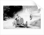 Raymond Mays' Bugatti loses a wheel, (early 1930s?) by Unknown