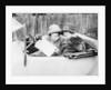Two women in an 11.9 hp Calcott by Anonymous