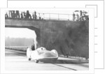 Bernd Rosemeyer driving an Auto Union by Anonymous