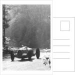 Bernd Rosemeyer driving an Auto Union, Donington Grand Prix by Anonymous
