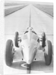 Bernd Rosemeyer in Auto Union record-breaking car by Anonymous
