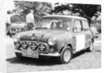 1965 Mini Cooper S Rally car by Anonymous