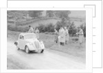 1937 Fiat 500 Coupe competing in the Welsh Rally by Unknown