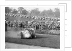 Dick Seaman with his Mercedes, Donington Grand Prix, 1938 by Unknown