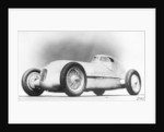 Mercedes-Benz W25 Streamliner car by Anonymous