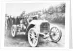 Camille Jenatzy in his 60 hp Mercedes, winner of the Gordon Bennett Race by Anonymous