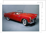 A 1955 Ford Thunderbird by Unknown