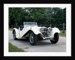1936 Jaguar SS100 by Unknown