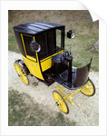 1897 Bersey Electric Taxi by Unknown