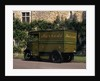 A 1939 Harrod's one ton electric delivery van by Unknown