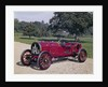 1907 Itala 120hp car by Unknown