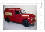 A 1970 Morris Minor 1000 Post Office van by Unknown