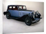 A 1934 Talbot 105 by Unknown