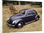 A 1953 Volkswagen Export Type I Beetle by Unknown