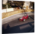 Phill Hill racing a Ferrari D246 by Anonymous