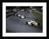 Rene Arnoux in the British Grand Prix by Anonymous