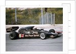 Mario Andretti racing a JPS Lotus-Cosworth 78, Spanish Grand Prix, Jarama, Spain, 1977 by Unknown