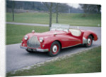 A 1950 Alvis TB21 sportscar by Unknown