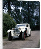 A 1930 Bentley 8 Litre saloon with a Mulliner body by Anonymous