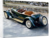 A 1928 Bugatti Type 44 viewed from the rear by Unknown