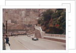 Racing cars on the road track at the Monaco Grand Prix by Anonymous