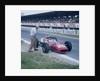 Lorenzo Bandini in a Ferrari 312 by Anonymous