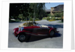 A 1936 Mercedes Benz 500K Roadster by Anonymous