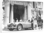 Aston Martin DB2-4 outside the Hotel Carlton by Anonymous