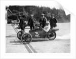 A 1914 Morgan at the starting line of a race by Anonymous
