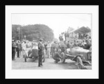 Competitors at the Isle of Man TT by Anonymous