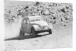 A Citroën 2CV rally car by Unknown