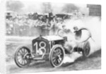 Duray driving a De Dietrich in the Vanderbilt Cup by Anonymous
