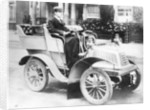 A man driving an 8hp De Dion Bouton by Anonymous