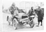 A Grégoire car and its driver by Anonymous