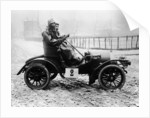 A Grégoire car with driver and passenger by Anonymous