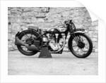Norton motorbike, an International Model 30 by Anonymous