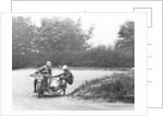 G Tucker racing a Norton bike by Anonymous