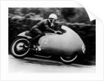 Possibly Bill Lomas, on a Moto Guzzi V8 by Anonymous