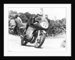 John Hartle winning the Isle of Man Junior TT, on an MV Agusta by Anonymous